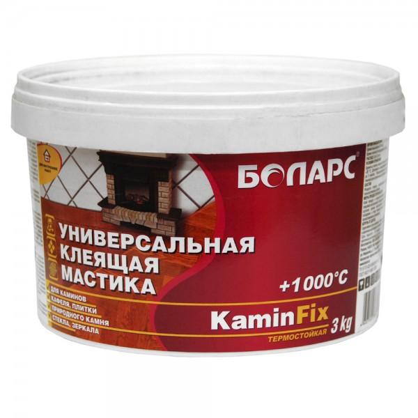 Термостойкая мастика «Боларс-KaminFix» 3кг