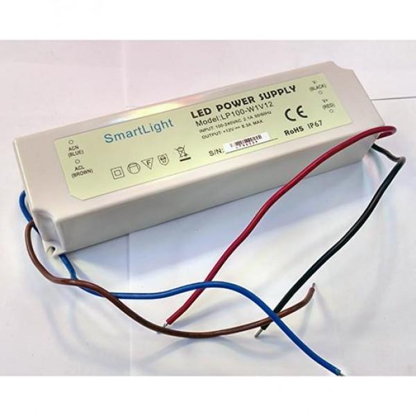 Блок питания 12V 100W 8.3A IP-67 SP-D герметичный