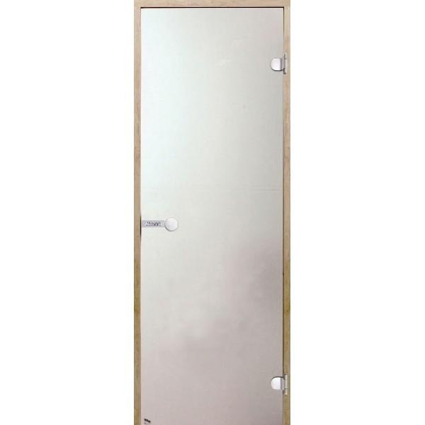 Дверь для сауны Harvia STG 7x19 сосна/сатин