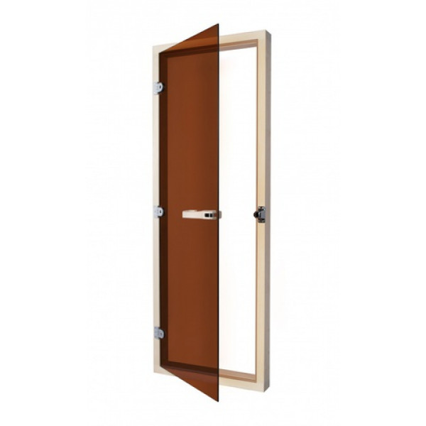 SAWO Дверь 730 - 4SGA, 690mm х 1890mm Бронза с порогом