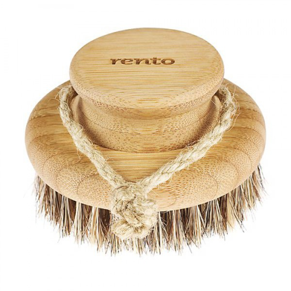 Щетка для мытья Rento Tammer-Tukku, круглая, бамбук, 9,5 см.
