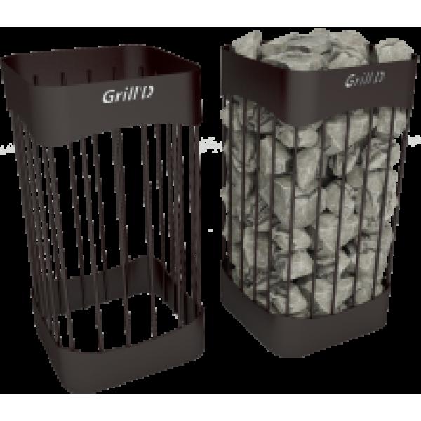 Сетка для камней Grill'D Optima L600 D300 black