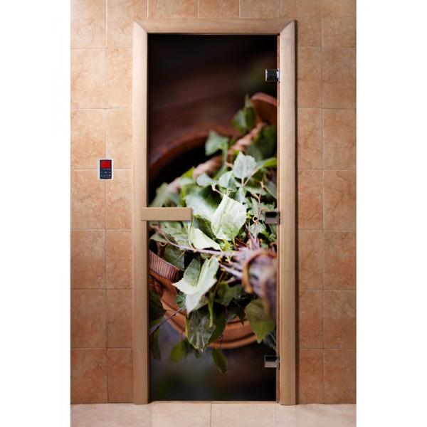 Дверь для сауны с фотопечатью 700х1900 (008)