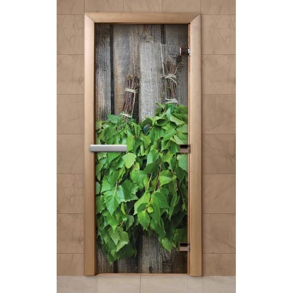 Дверь для саун с фотопечатью 700Х1900  (F202)