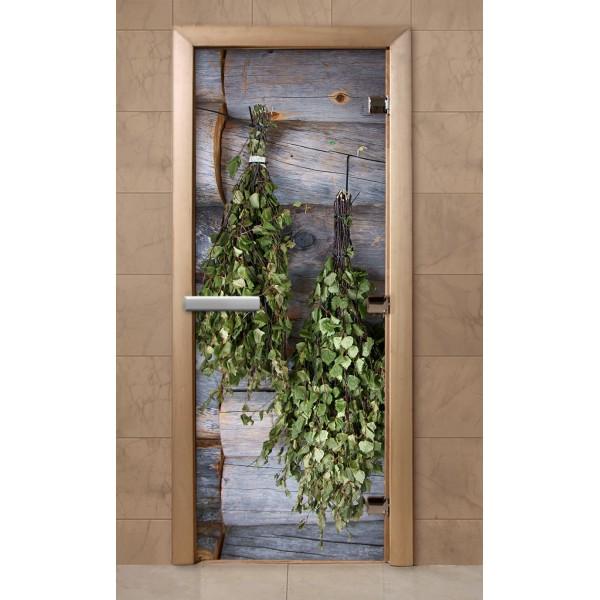 Дверь для саун с фотопечатью 700Х1900  (F204)