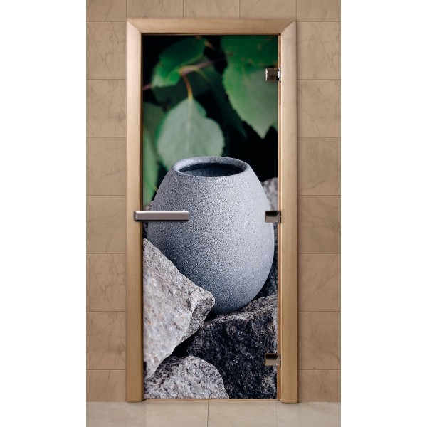 Дверь для саун с фотопечатью 700Х1900  (F210)