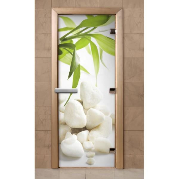 Дверь для саун с фотопечатью 700Х1900  (217)