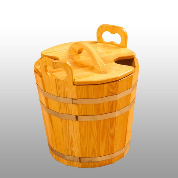 Запарник для бани с крышкой 12 литров