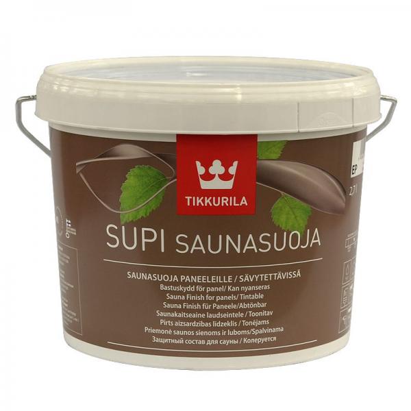 Лак для сауны Supi Saunasuoja (Супи Саунасуоя) 2,7 л.