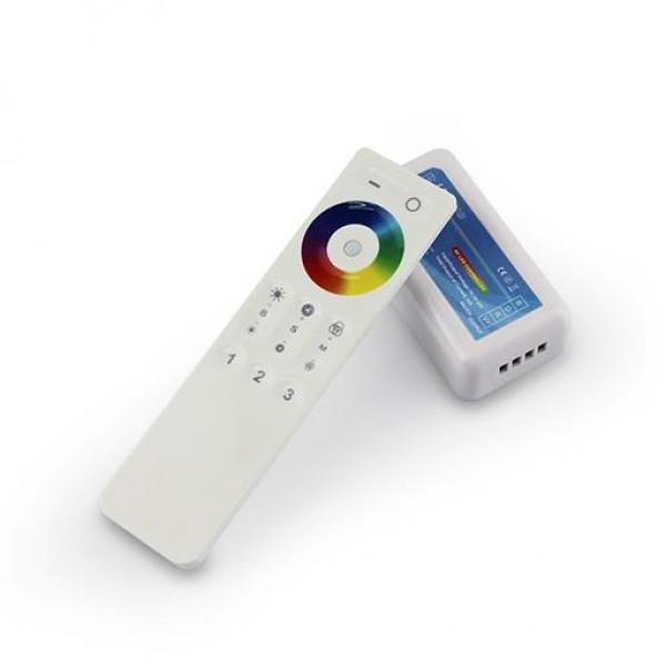 RGB Контроллер с радиопультом DST03 12-24V 144-288W 3*4A 3 зоны