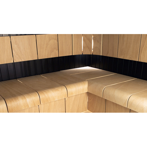 Комплект сидений для сауны береза