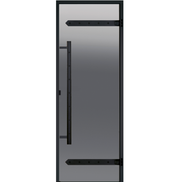 Дверь Harvia Legend STG 7×19 сосна, стекло «сатин»