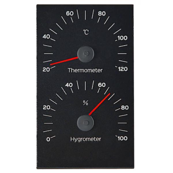 Термогигрометр алюминий