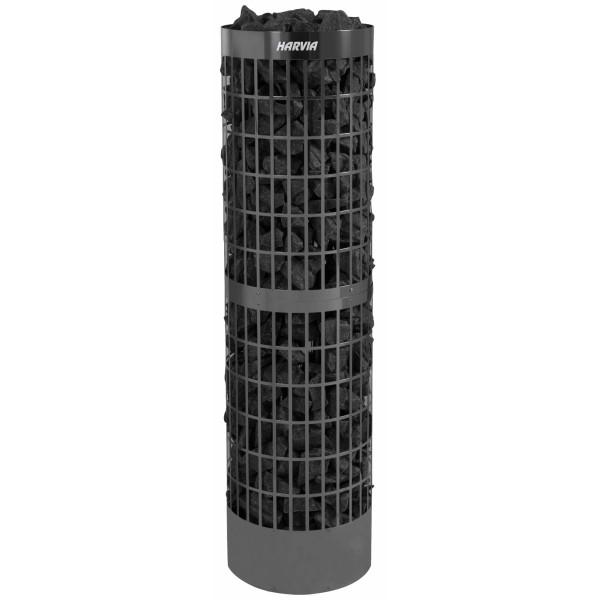 Harvia Cilindro PC100E/135E Black Steel